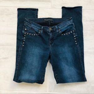 Rock & Republic Skinny Denim Jeans Berlin Studs